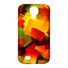 Indian Summer Cubes Samsung Galaxy S4 Classic Hardshell Case (pc+silicone) by designworld65
