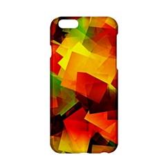 Indian Summer Cubes Apple Iphone 6/6s Hardshell Case by designworld65