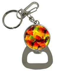 Indian Summer Cubes Bottle Opener Key Chains by designworld65