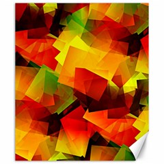 Indian Summer Cubes Canvas 20  X 24   by designworld65