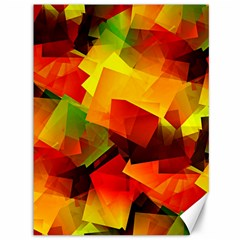 Indian Summer Cubes Canvas 36  X 48   by designworld65