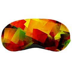 Indian Summer Cubes Sleeping Masks by designworld65