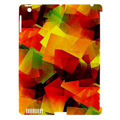 Indian Summer Cubes Apple Ipad 3/4 Hardshell Case (compatible With Smart Cover) by designworld65