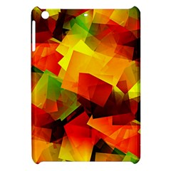 Indian Summer Cubes Apple Ipad Mini Hardshell Case by designworld65