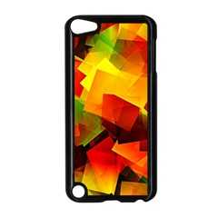 Indian Summer Cubes Apple Ipod Touch 5 Case (black) by designworld65
