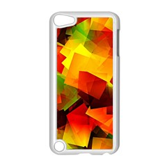 Indian Summer Cubes Apple Ipod Touch 5 Case (white) by designworld65