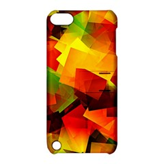 Indian Summer Cubes Apple Ipod Touch 5 Hardshell Case With Stand by designworld65