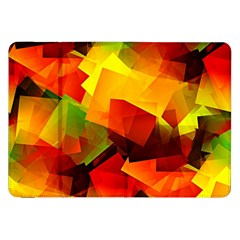 Indian Summer Cubes Samsung Galaxy Tab 8 9  P7300 Flip Case by designworld65