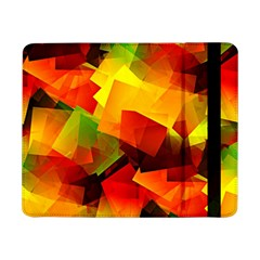 Indian Summer Cubes Samsung Galaxy Tab Pro 8 4  Flip Case by designworld65