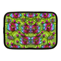 Freedom In Colors And Floral Netbook Case (medium)  by pepitasart