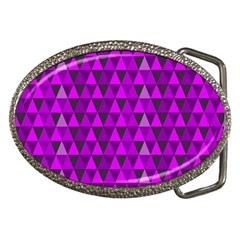 Triangle Purple Belt Buckles by fashionnarwhal