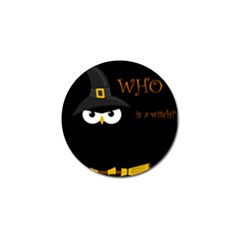 Who Is A Witch? Golf Ball Marker (10 Pack) by Valentinaart