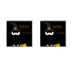 Who Is A Witch? Cufflinks (square) by Valentinaart