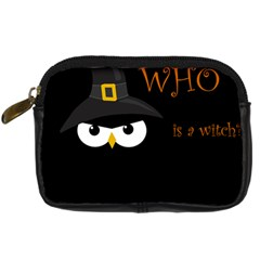 Who Is A Witch? Digital Camera Cases by Valentinaart