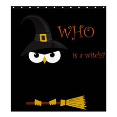 Who Is A Witch? Shower Curtain 66  X 72  (large)  by Valentinaart