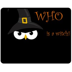 Who Is A Witch? Fleece Blanket (medium)  by Valentinaart