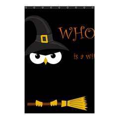 Who Is A Witch? Shower Curtain 48  X 72  (small)  by Valentinaart