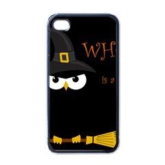 Who Is A Witch? Apple Iphone 4 Case (black) by Valentinaart