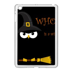 Who Is A Witch? Apple Ipad Mini Case (white) by Valentinaart