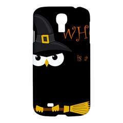 Who Is A Witch? Samsung Galaxy S4 I9500/i9505 Hardshell Case by Valentinaart