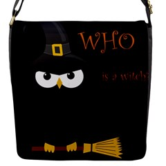 Who Is A Witch? Flap Messenger Bag (s) by Valentinaart