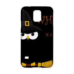 Who Is A Witch? Samsung Galaxy S5 Hardshell Case  by Valentinaart
