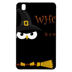 Who Is A Witch? Samsung Galaxy Tab Pro 8 4 Hardshell Case by Valentinaart