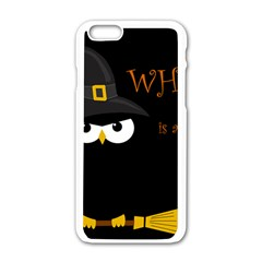 Who Is A Witch? Apple Iphone 6/6s White Enamel Case by Valentinaart