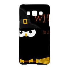 Who Is A Witch? Samsung Galaxy A5 Hardshell Case  by Valentinaart