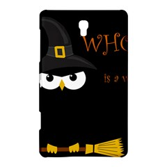 Who Is A Witch? Samsung Galaxy Tab S (8 4 ) Hardshell Case  by Valentinaart