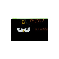 Who Is A Witch? Cosmetic Bag (xs) by Valentinaart