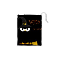 Who Is A Witch? Drawstring Pouches (xs)  by Valentinaart