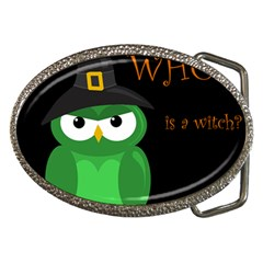 Who Is A Witch?   Green Belt Buckles by Valentinaart
