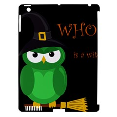 Who Is A Witch?   Green Apple Ipad 3/4 Hardshell Case (compatible With Smart Cover) by Valentinaart
