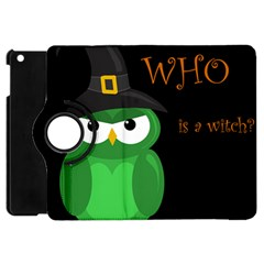 Who Is A Witch?   Green Apple Ipad Mini Flip 360 Case by Valentinaart