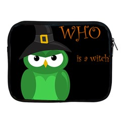 Who Is A Witch?   Green Apple Ipad 2/3/4 Zipper Cases by Valentinaart