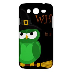 Who Is A Witch?   Green Samsung Galaxy Mega 5 8 I9152 Hardshell Case  by Valentinaart