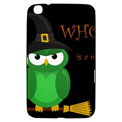 Who Is A Witch?   Green Samsung Galaxy Tab 3 (8 ) T3100 Hardshell Case  by Valentinaart