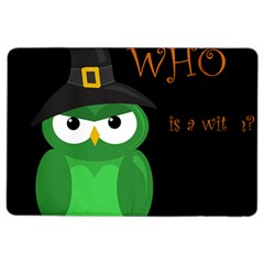 Who Is A Witch?   Green Ipad Air 2 Flip by Valentinaart