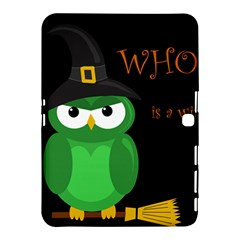 Who Is A Witch?   Green Samsung Galaxy Tab 4 (10 1 ) Hardshell Case