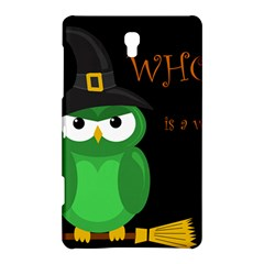Who Is A Witch?   Green Samsung Galaxy Tab S (8 4 ) Hardshell Case  by Valentinaart