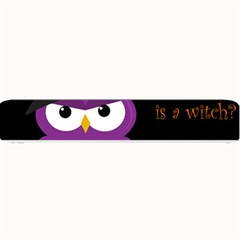 Who Is A Witch?   Purple Small Bar Mats by Valentinaart