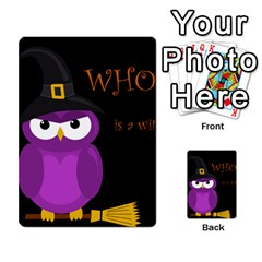 Who Is A Witch?   Purple Multi Purpose Cards (rectangle)  by Valentinaart