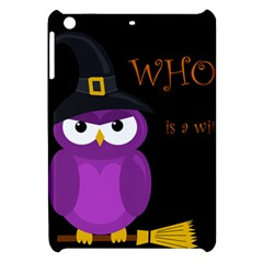 Who Is A Witch?   Purple Apple Ipad Mini Hardshell Case by Valentinaart