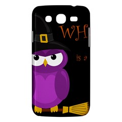 Who Is A Witch?   Purple Samsung Galaxy Mega 5 8 I9152 Hardshell Case  by Valentinaart