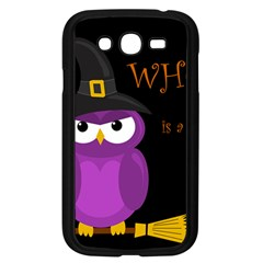 Who Is A Witch?   Purple Samsung Galaxy Grand Duos I9082 Case (black) by Valentinaart