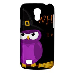 Who Is A Witch?   Purple Galaxy S4 Mini by Valentinaart