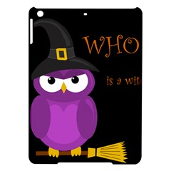 Who Is A Witch?   Purple Ipad Air Hardshell Cases by Valentinaart