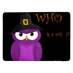 Who Is A Witch?   Purple Samsung Galaxy Tab Pro 12 2  Flip Case