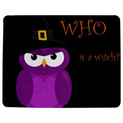 Who Is A Witch?   Purple Jigsaw Puzzle Photo Stand (rectangular) by Valentinaart